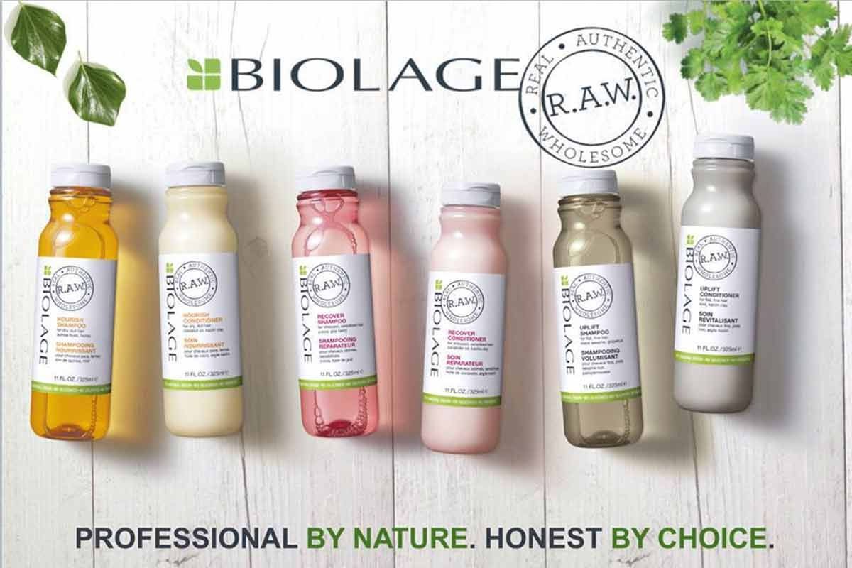 Biolage RAW, anche l'hair designer diventa GREEN